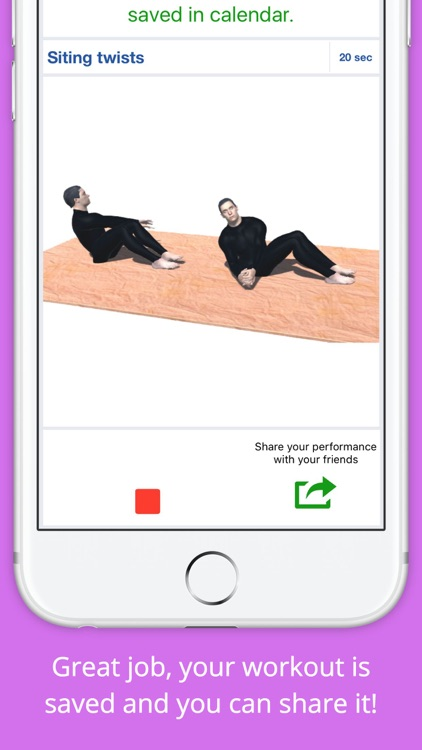 12 Min Ladies Workout Get Fit screenshot-3