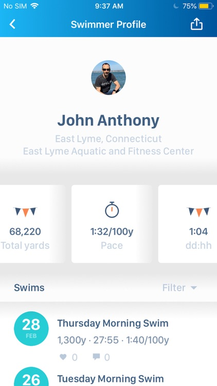 Swim.com Smart Swim Tracking screenshot-4
