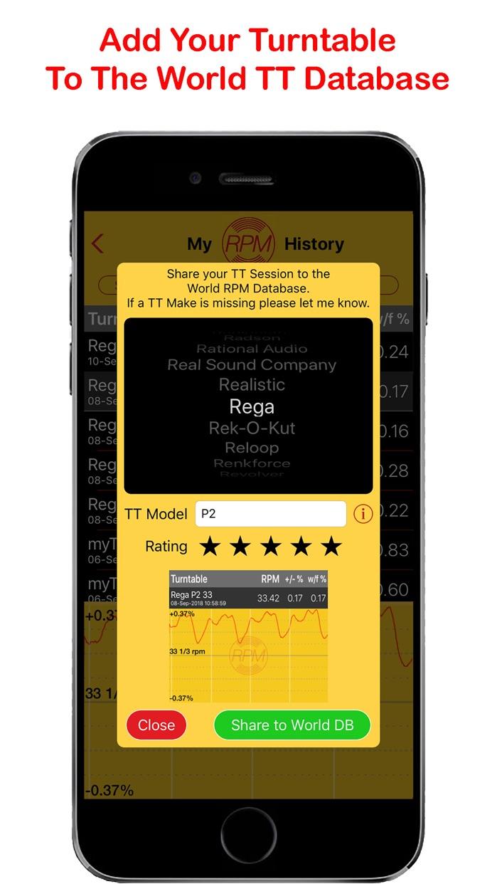 RPM - Turntable Speed Accuracy Screenshot