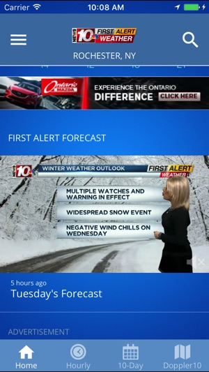 WHEC First Alert Weather on the App Store