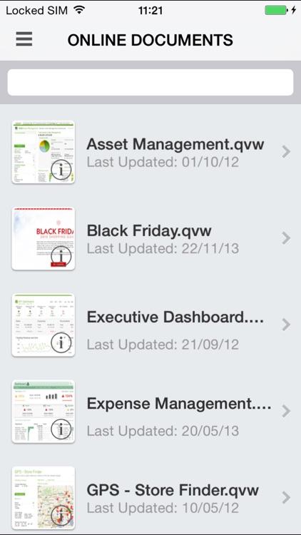 QlikView mobile screenshot-4