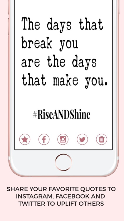 #RiseANDShine-Words for Women screenshot-6