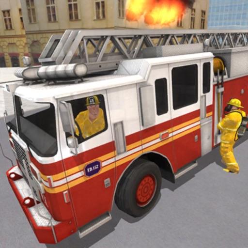Fire Truck Game 911 Emergency
