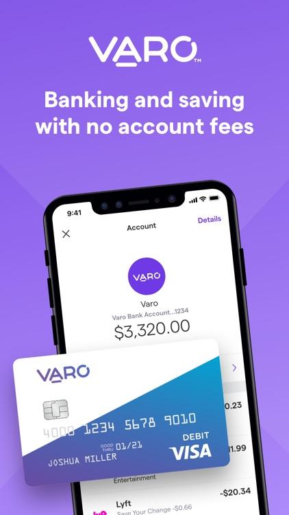 Varo Banking screenshot-0