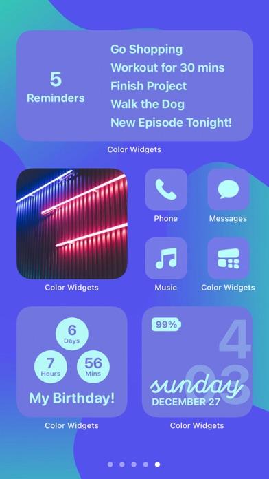 Color Widgets Screenshot