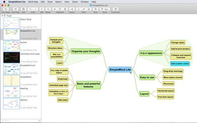 SimpleMind Lite - Mind Mapping on the Mac App Store on digital mind map, lab map, nfa map, con map, indicator scale on map, pal map, fal map, ess map, tip map, ddos map, access point map, glonass map, ink drawing map, rocket city map, watson's map, ata map, ntsc map, concealer map, lcd map, march map,