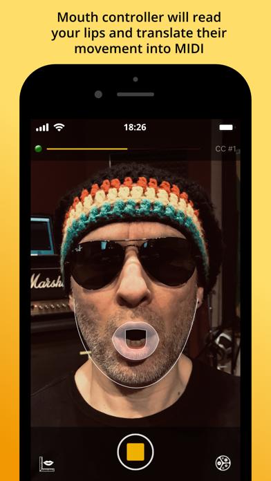 MIDI Mouth Controller