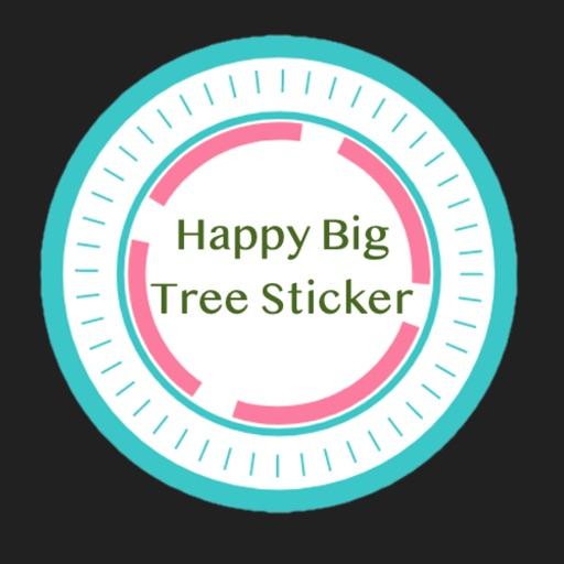 Happy Big Tree Sticker