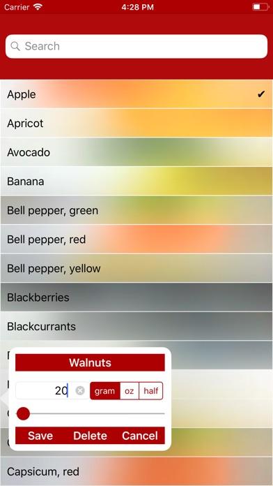 Screenshot for My Hi Fiber Diet in United States App Store
