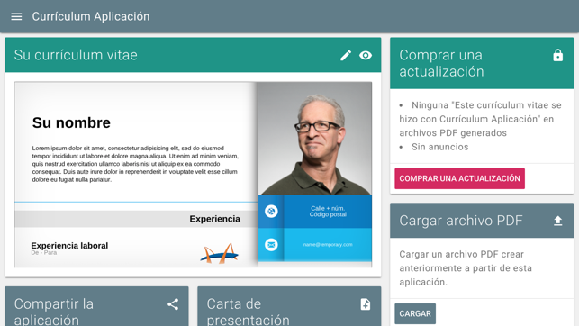 Curriculum Aplicacion En App Store