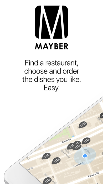 Mayber: Restaurants and DatingScreenshot of 1