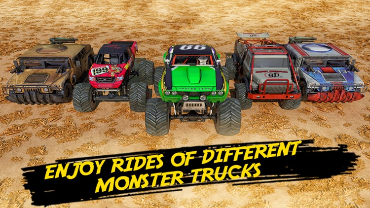 Monster Truck 4x4 Derby screenshot-6