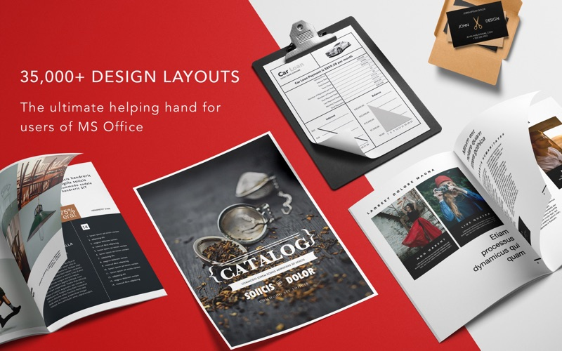 Bundle for Office GN Templates Screenshots