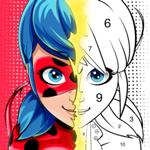 Miraculous Ladybug Сoloring на пк