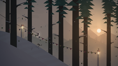 Screenshot from Alto's Adventure