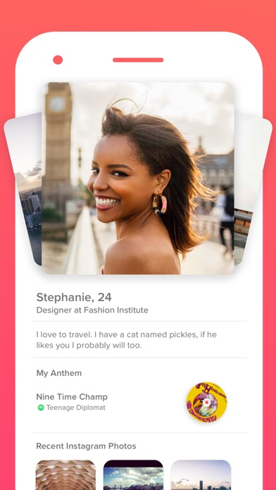 Screenshot for Tinder in Singapore App Store