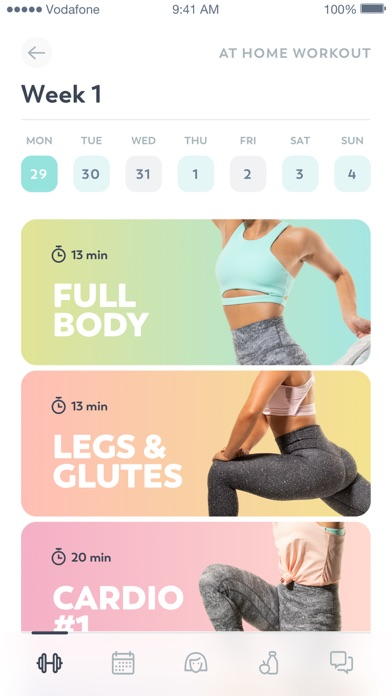 Screenshot for StrongHer: Female Fitness in Finland App Store