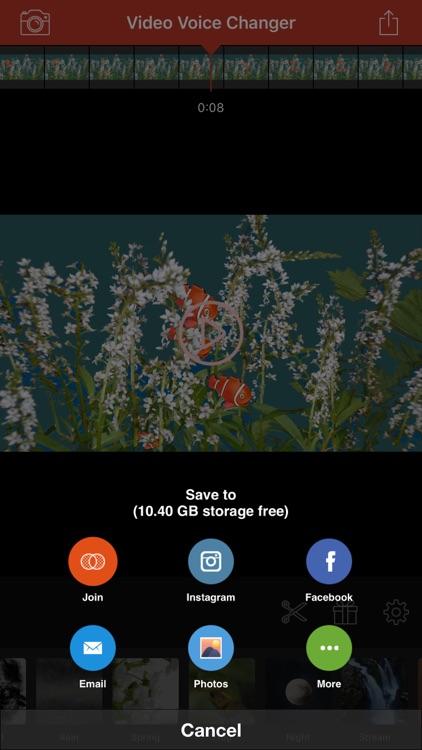 Video Voice Changer-Fun Editor screenshot-3