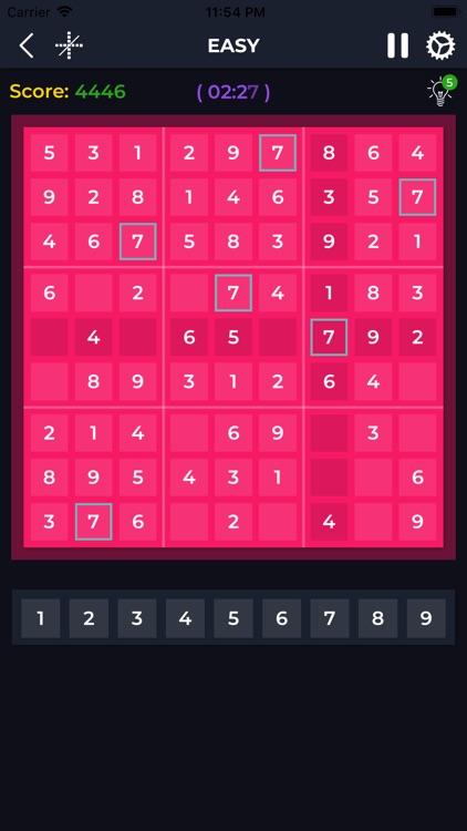 Sudoku Puzzle Number screenshot-4