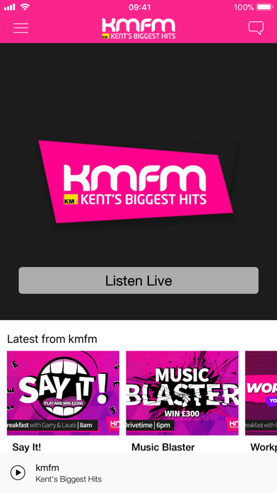 kmfm screenshot one