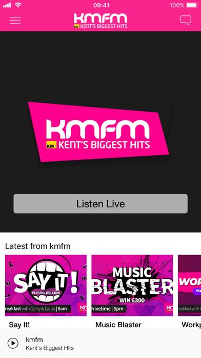 kmfm screenshot one
