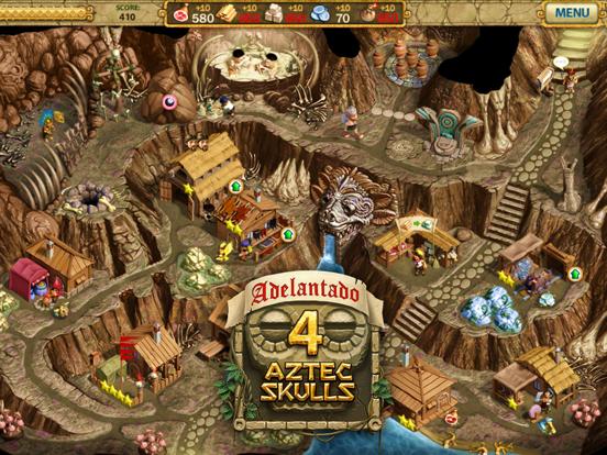 Adelantado: 4 Aztec skulls screenshot 10