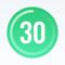 App Icon for Фитнес план 30 дней вдома App in Ukraine IOS App Store