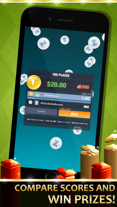 Gin Solitaire screenshot four