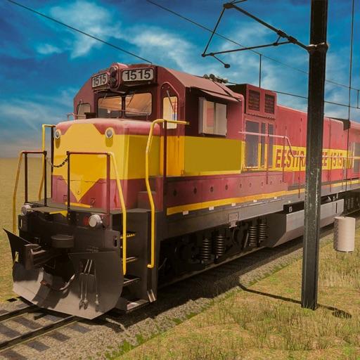 treno simulatore rotaie strate