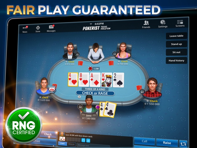 Texas Hold Em Poker Pokerist On The App Store