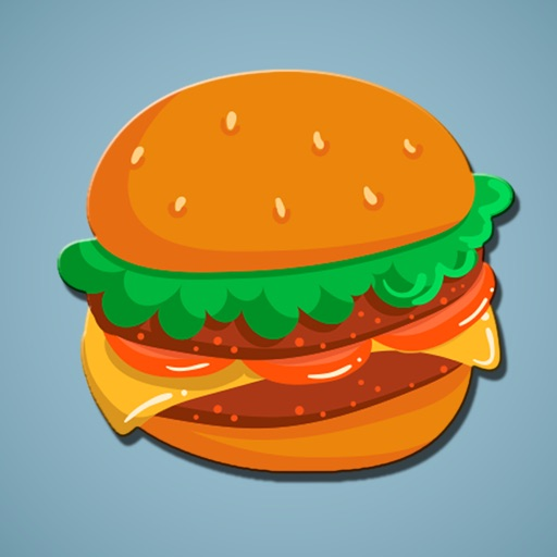 Hungry Burger Stickers