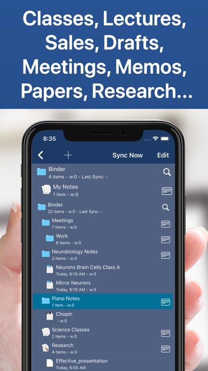 Notes Writer -Take Good Notes! screenshot-3
