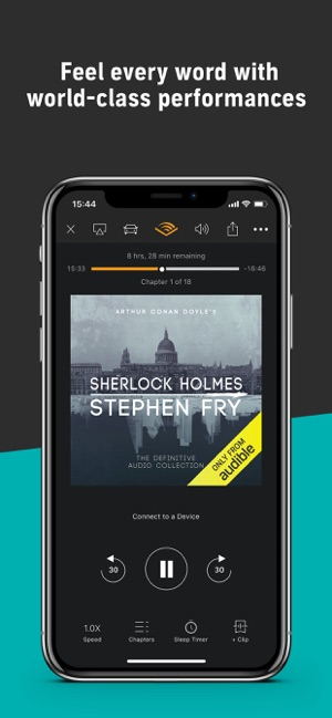 Audible - Audiobooks by Amazon on the App Store 08db7db12