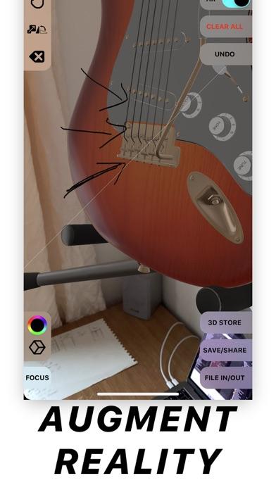 Note 3D - 3D/AR Modelling screenshot four