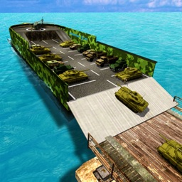 Army Tank Ship Transporter 3D