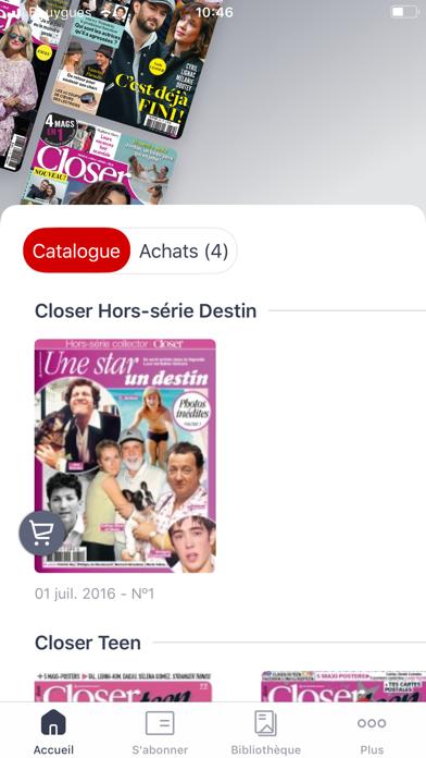 Screenshot #2 pour Closer Magazine