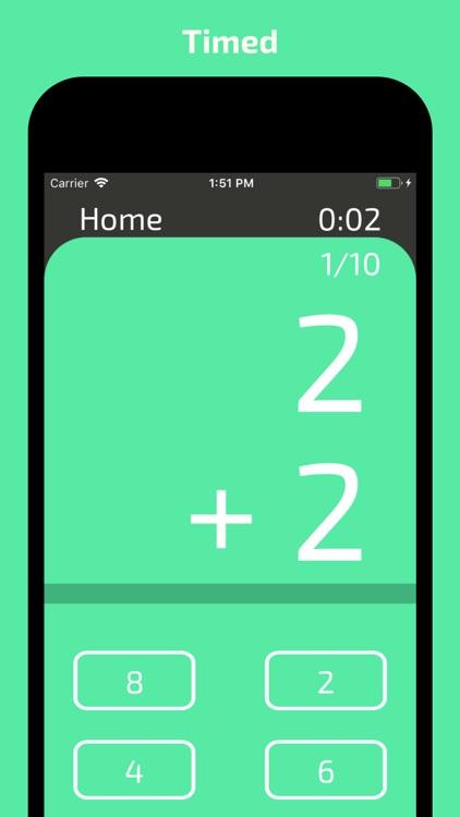 Mars Math Flash Cards screenshot-5