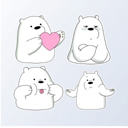 IceBearMoji - Stickers Pack