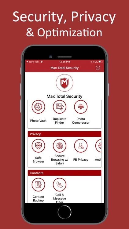Max Total Security screenshot-0