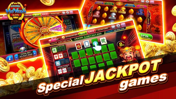 Slots GoldenHoYeah-Casino Slot screenshot-5