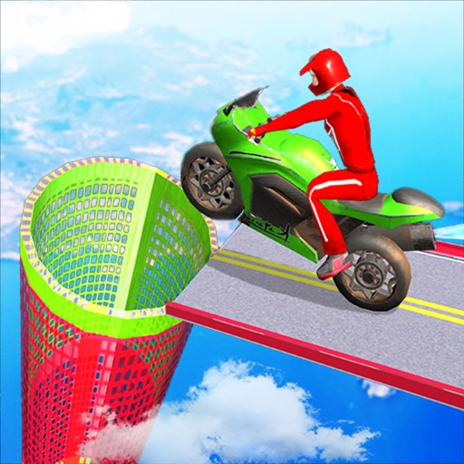 Bike Racing Games: Stunt Ramps