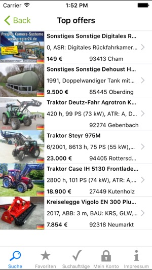 technikboerse on the app store  gebrauchte landmaschinen ubers iphone #8