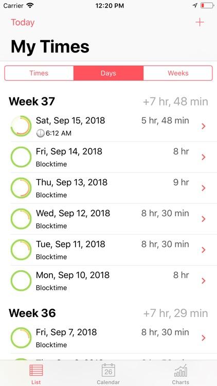 Time Guard - your time tracker screenshot-3