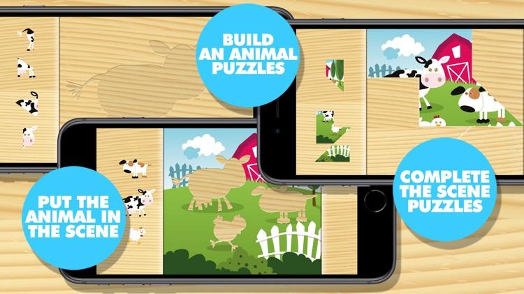 Farm Animal Puzzles screenshot-3