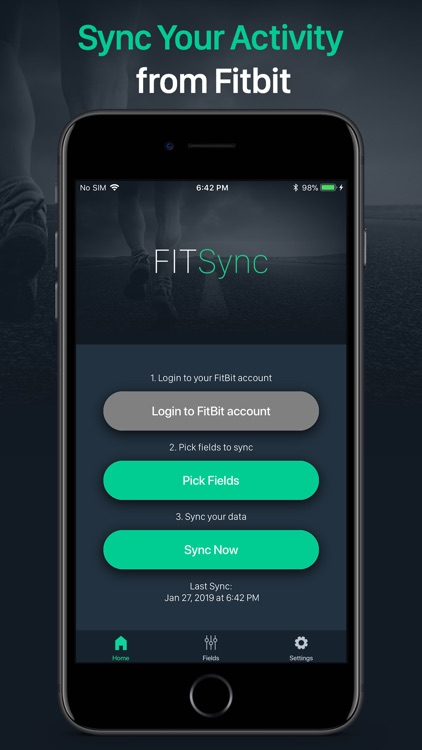 Fit Sync - Fitbit to Health