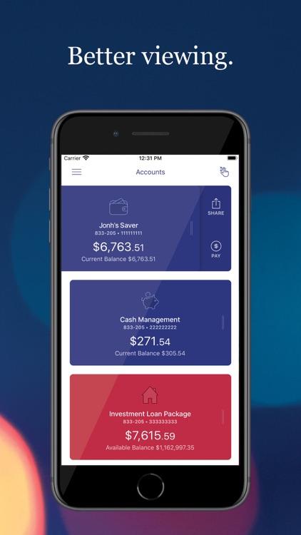 Defence Bank Mobile screenshot-3