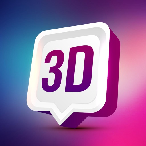 3D Wallpaper themes Sticker HD