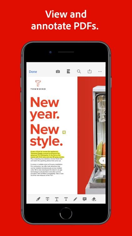 Adobe Acrobat Reader PDF Maker screenshot-4