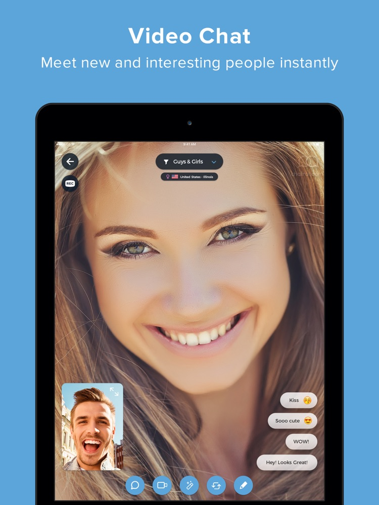 Chatrandom - Live Cam Chat App App for iPhone - Free