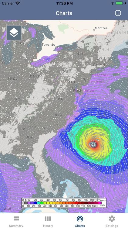 National Weather Forecast Data screenshot-7
